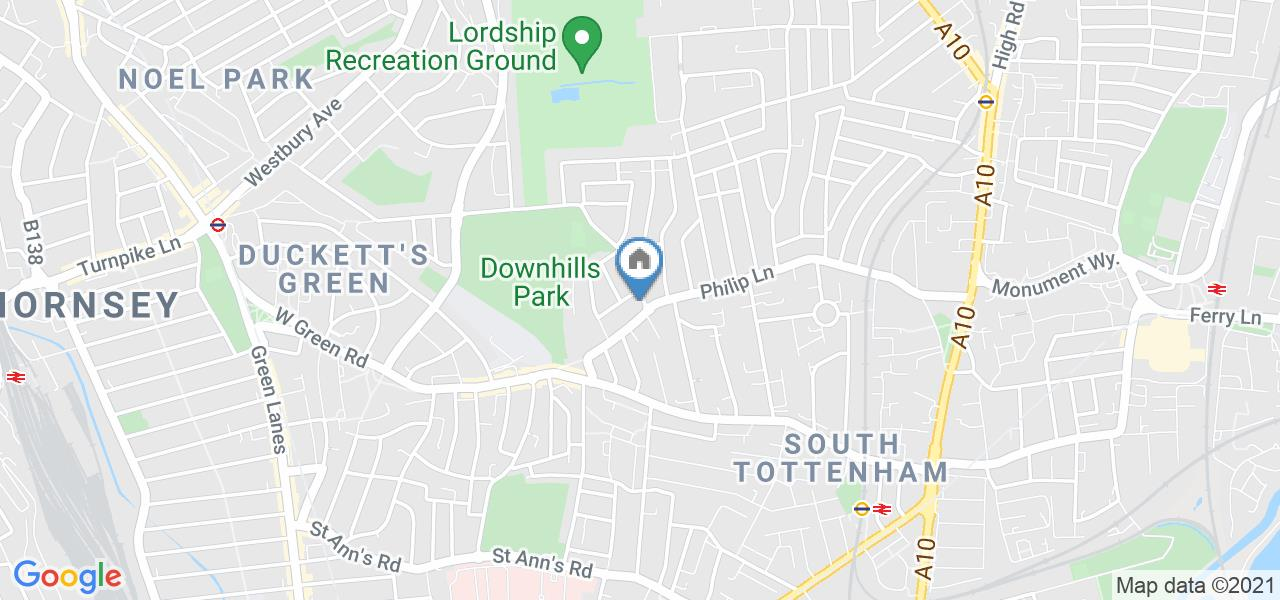 Room in a Shared House, Downhills Park Road, N17