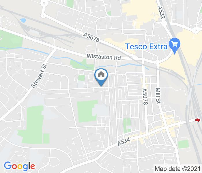 Room in a Shared House, Gainsborough Road, CW2