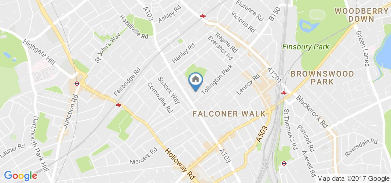 1 Bed Flat, Wray Crescent, N4