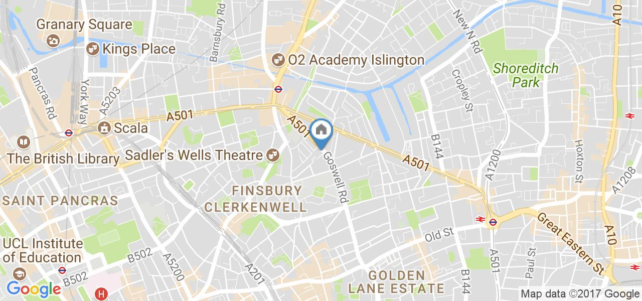 1 Bed Flat, Goswell Rd, EC1V