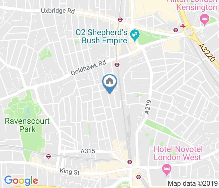 Studio Flat, Hammersmith Grove, W6