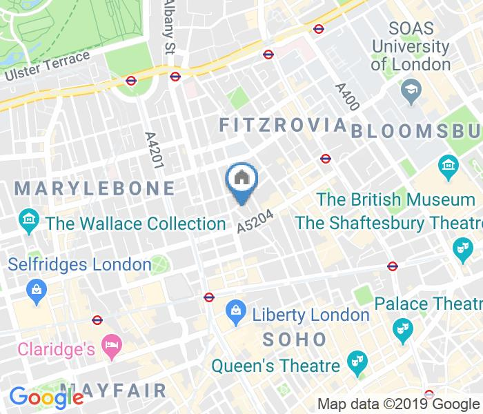 2 Bed Flat, Riding House Street, W1W