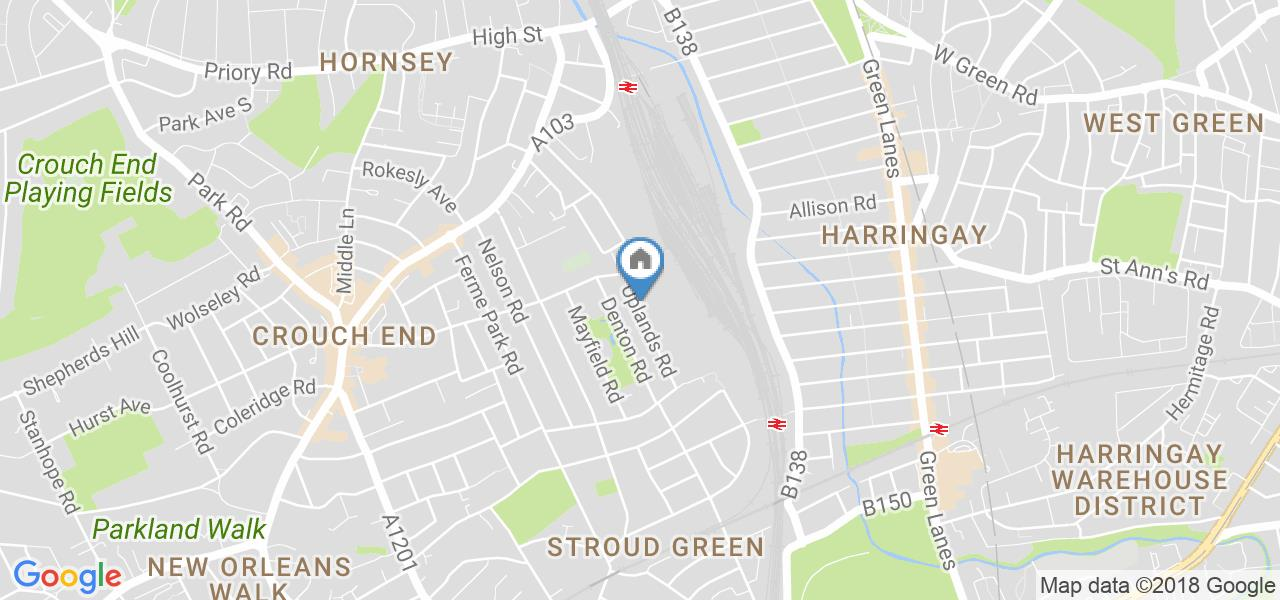 5 Bed Terraced House, Uplands Road, N8