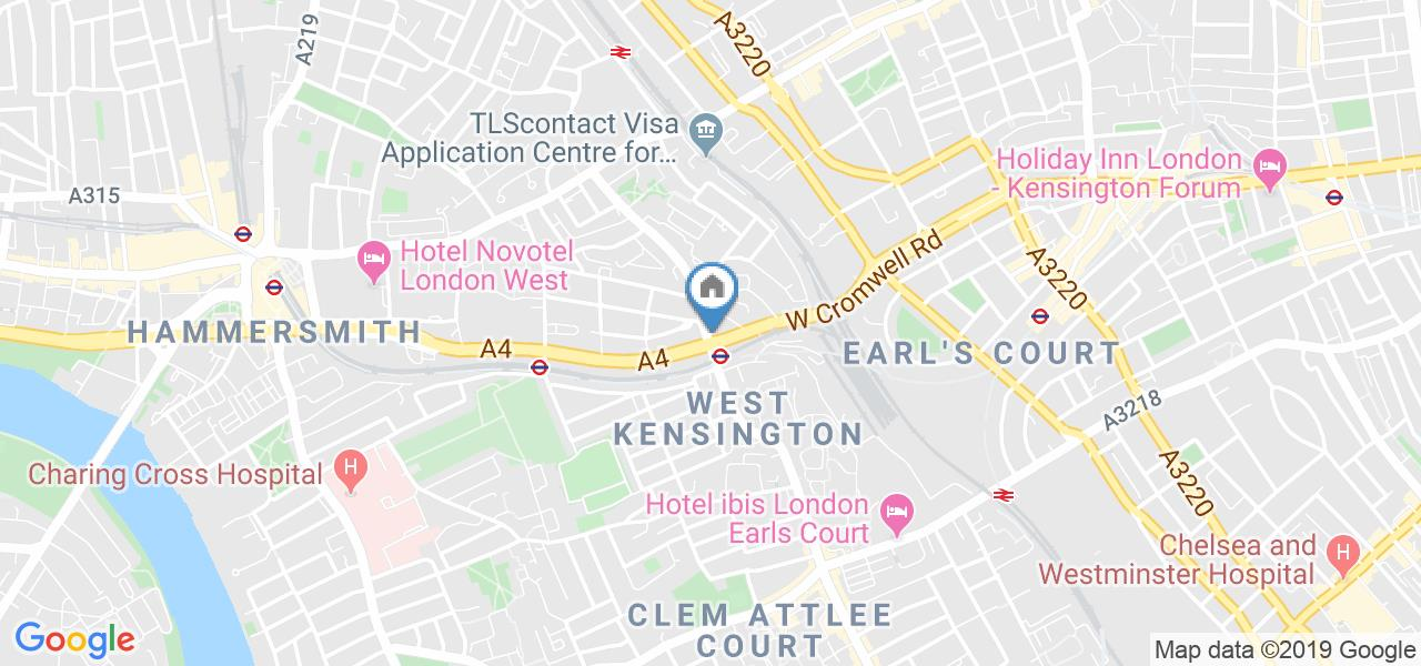 Room in a Shared Flat, West Kensington Court, W14