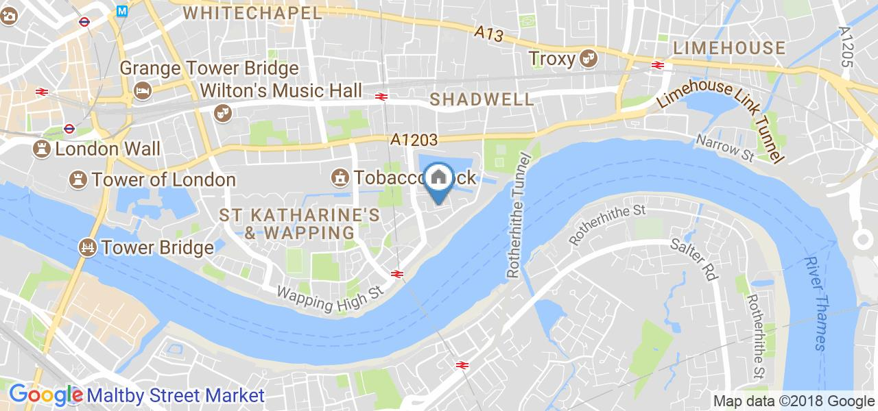 2 Bed Maisonette, Riverside Mansions, E1W