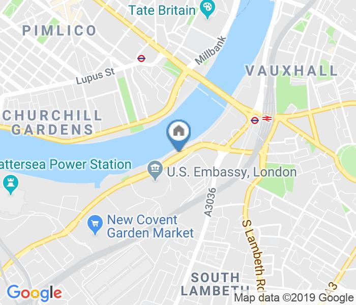 1 Bed Terraced House, Riverside Court, SW8