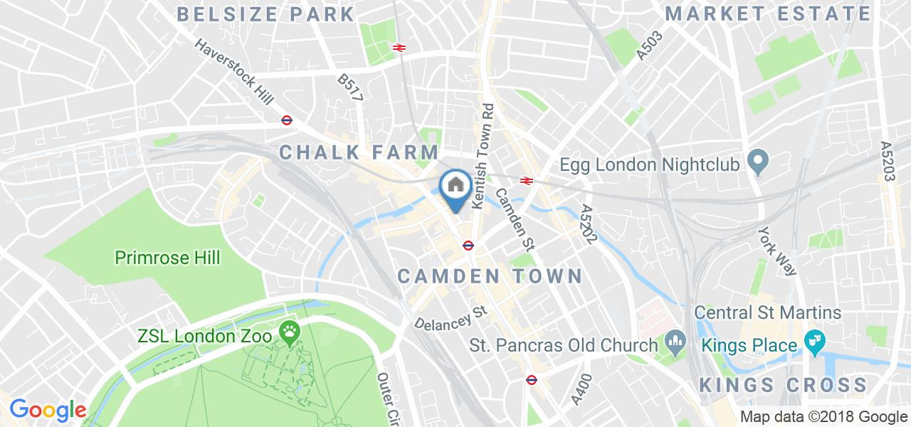 2 Bed Flat, Stucley Place, NW1