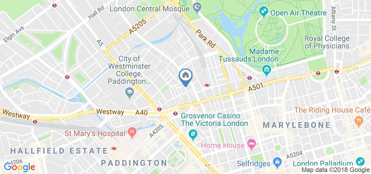 2 Bed Flat, Cosway Mansions, NW1