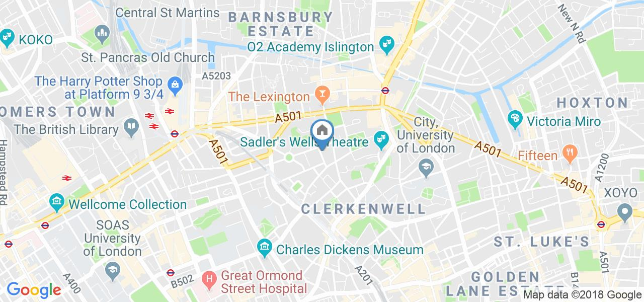 Room in a Shared Flat, Great Percy Street, WC1X