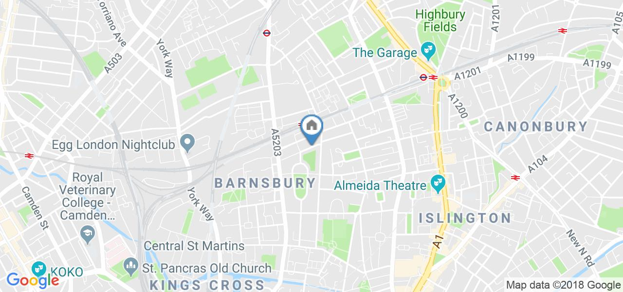 1 Bed Flat, Huntingdon Street, N1