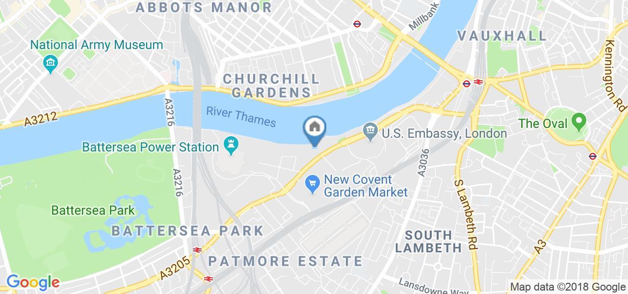 1 Bed House Boat, Tideway Dock, SW11