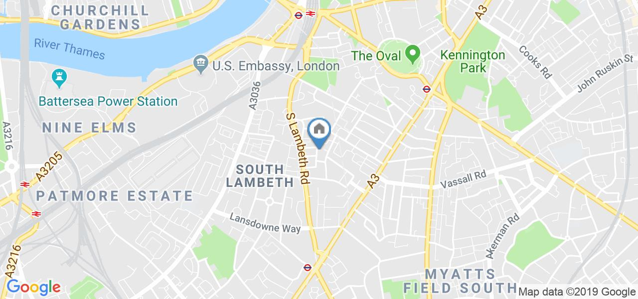 1 Bed Flat, Tradescant Road, SW8