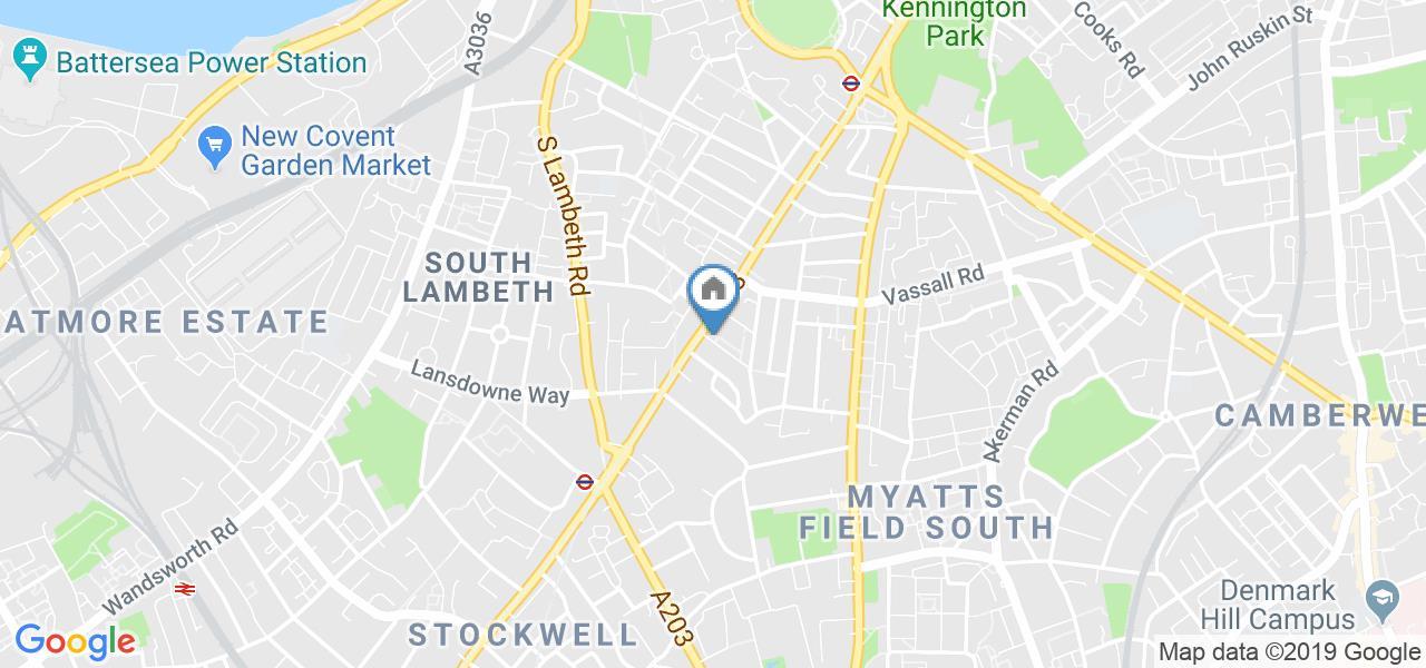 Studio Flat, Clapham Road, SW9