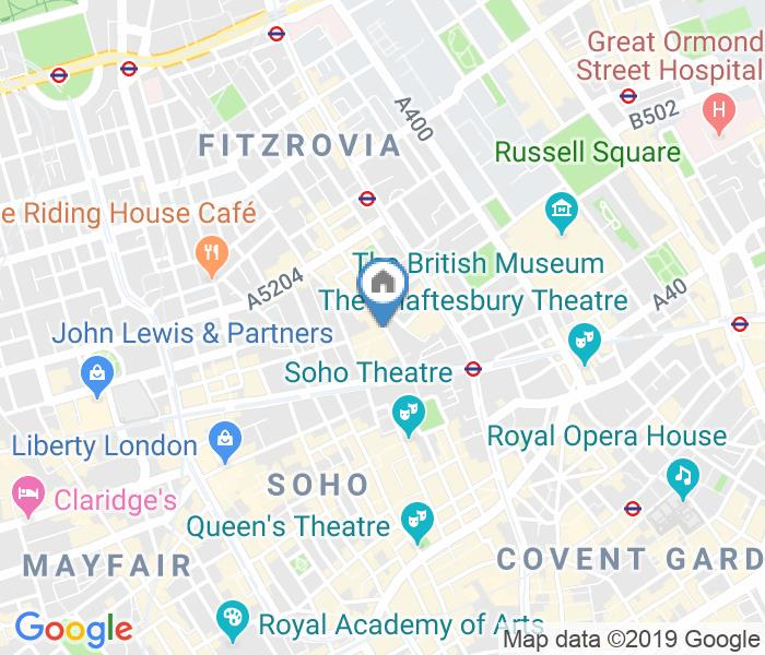 1 Bed Flat, Rathbone Place, W1T