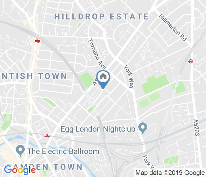 2 Bed Flat, North Villas, NW1