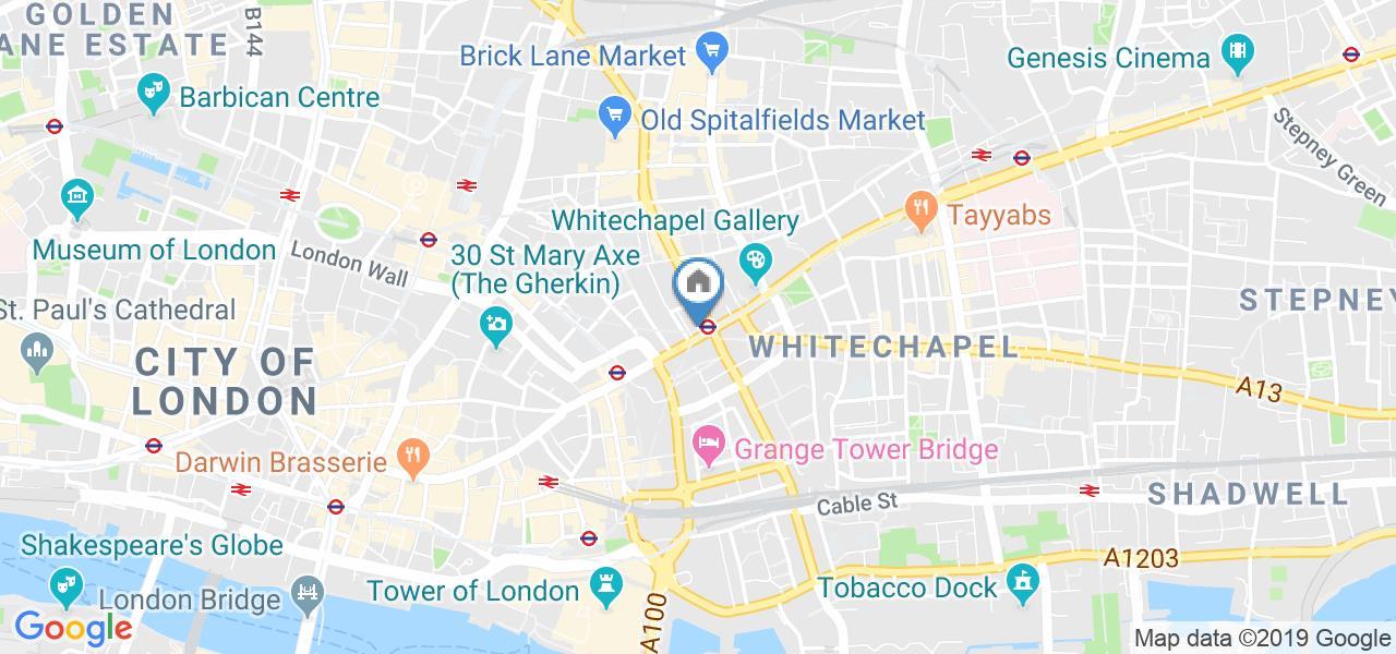 1 Bed Flat, Whitechapel High St, E1