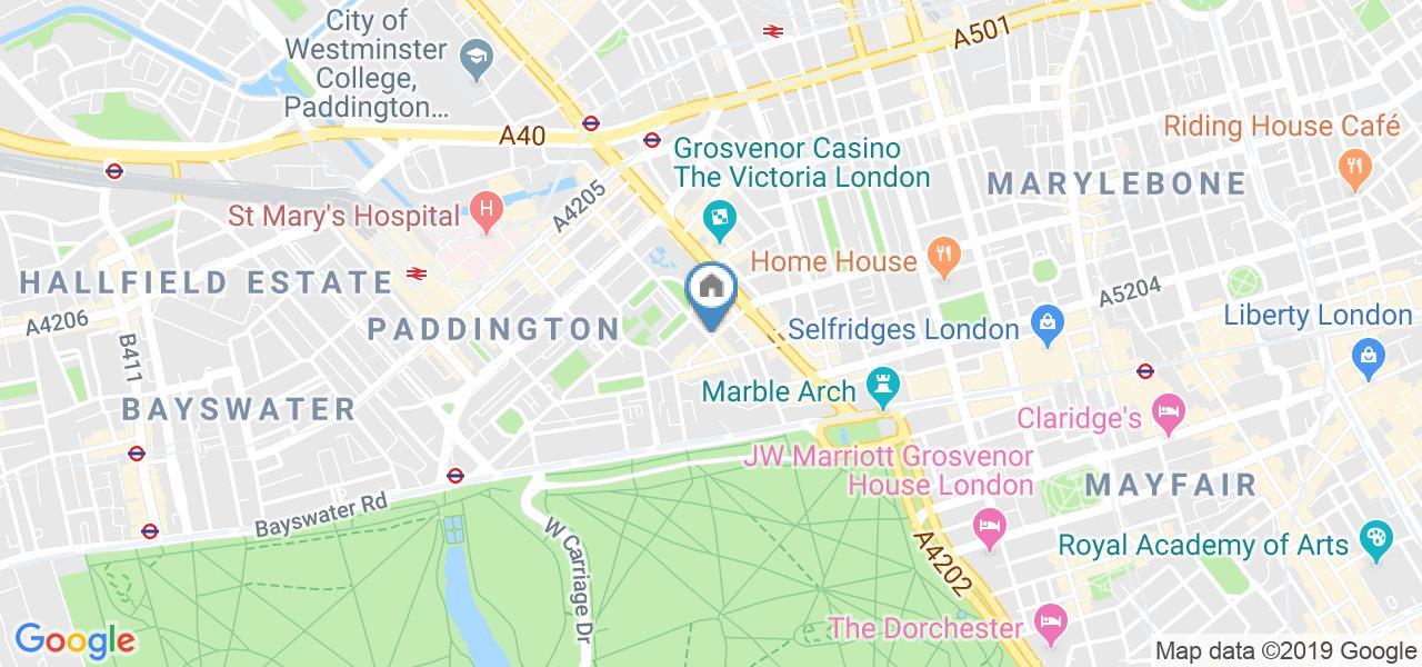 2 Bed Penthouse, Porchester Place, W2