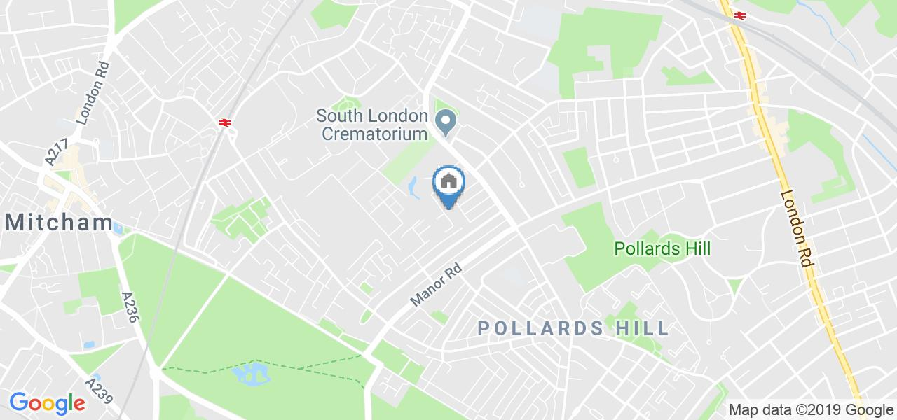 South London Map Google.London 3 Bed Semi Detached House Crowley Mews Sw16 To Rent Now