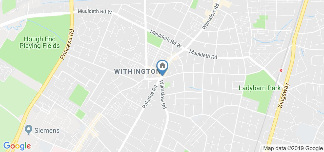 1 Bed Flat, Wilmslow Road, M20