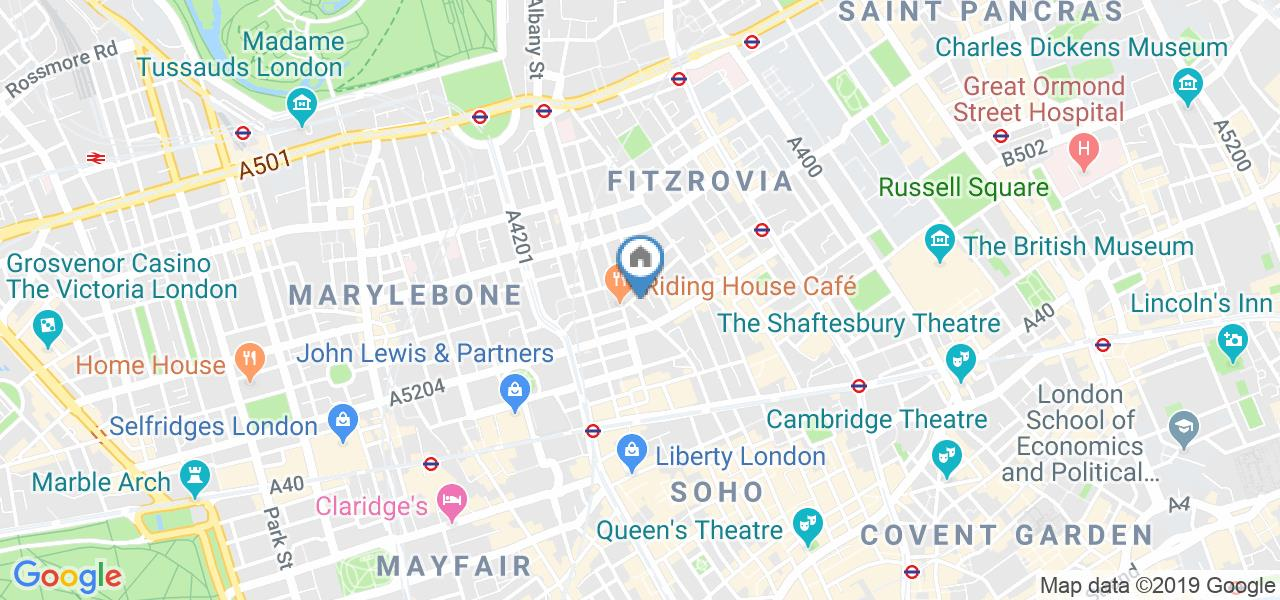 2 Bed Flat, West One House 36A, W1W