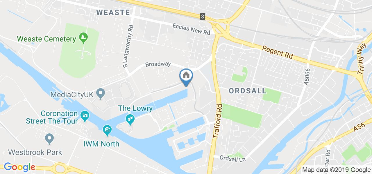 1 Bed Flat, The Quays, M50