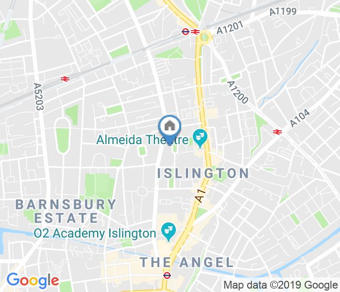 Room in a Shared Flat, Milner Square, N1