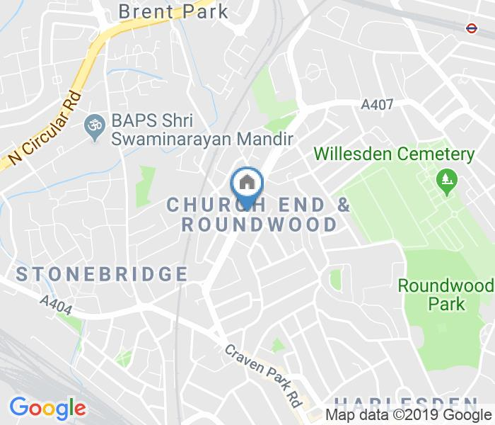 1 Bed Flat, Church Road, NW10