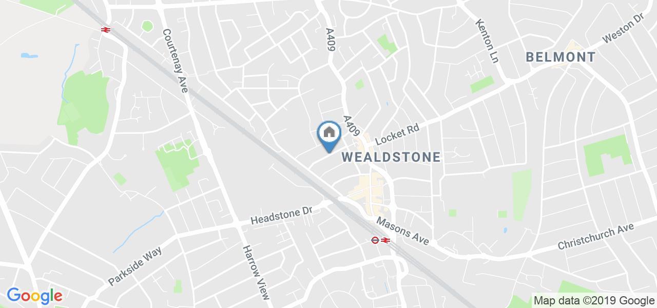 Bedsit, Wellington Road, HA3