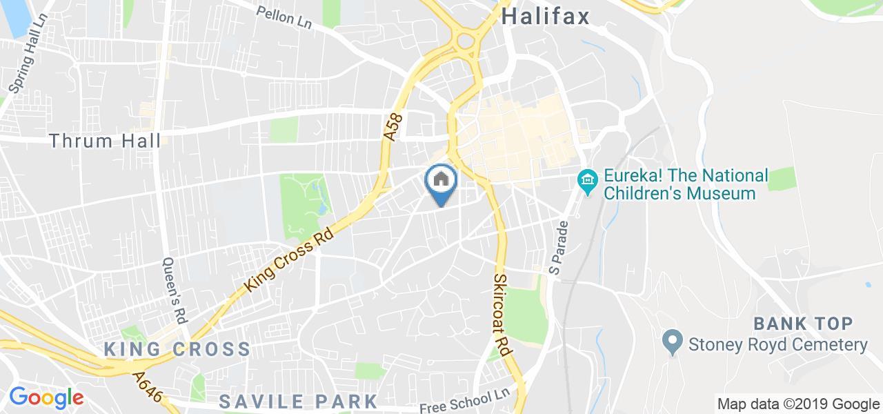 1 Bed Flat, Halifax House, HX1