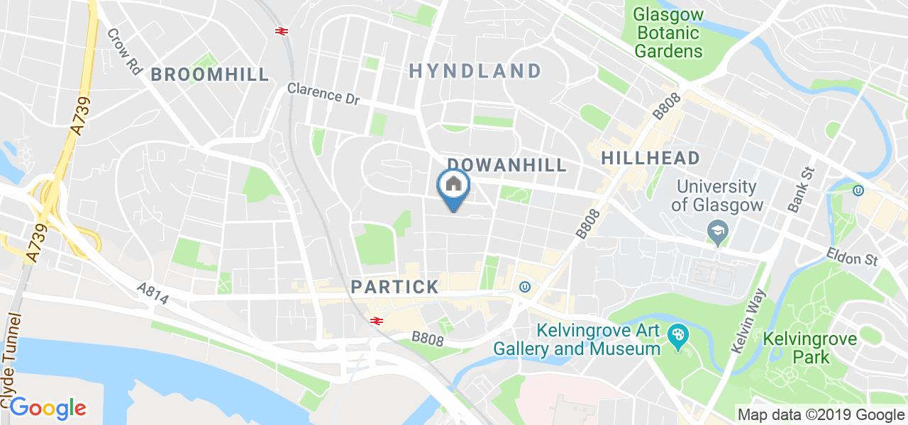 Room in a Shared Flat, Caird Drive, G11