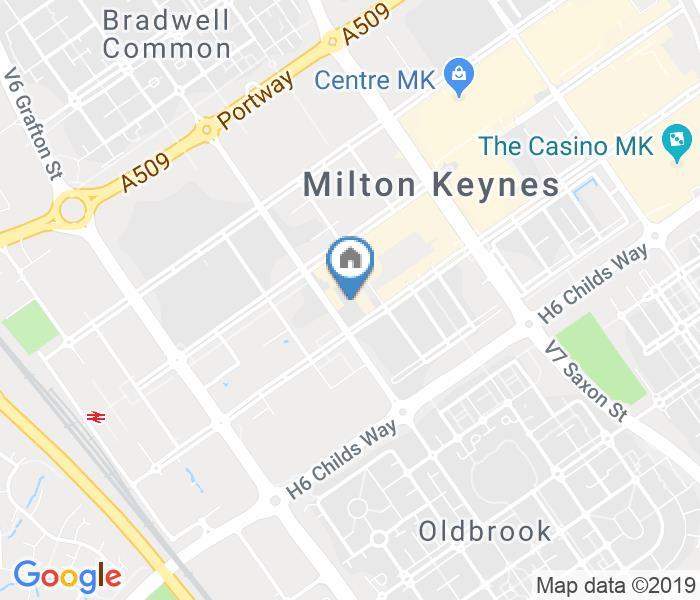 1 Bed Flat, Rillaton Walk, MK9