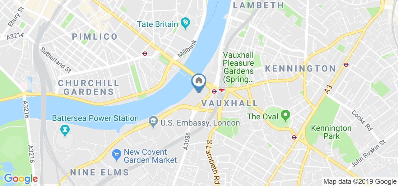1 Bed Flat, Ensign House, SW8