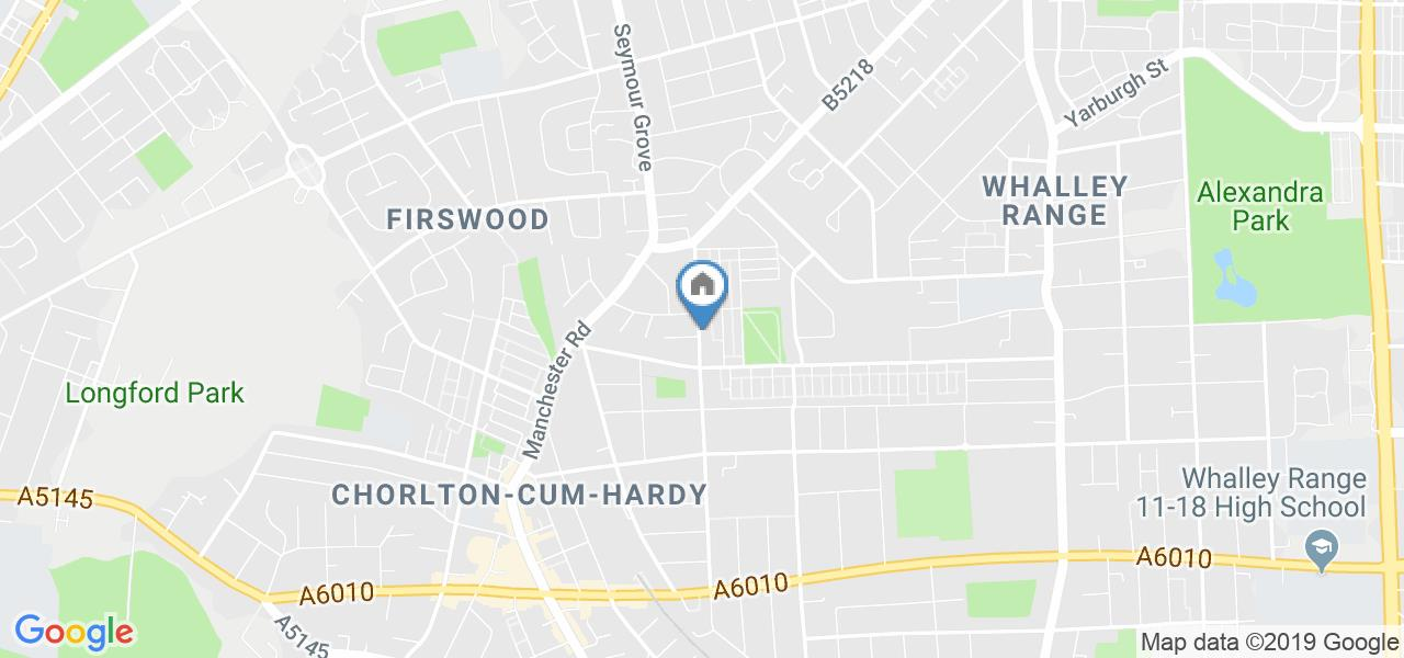 Room in a Shared House, Egerton Road North, M16