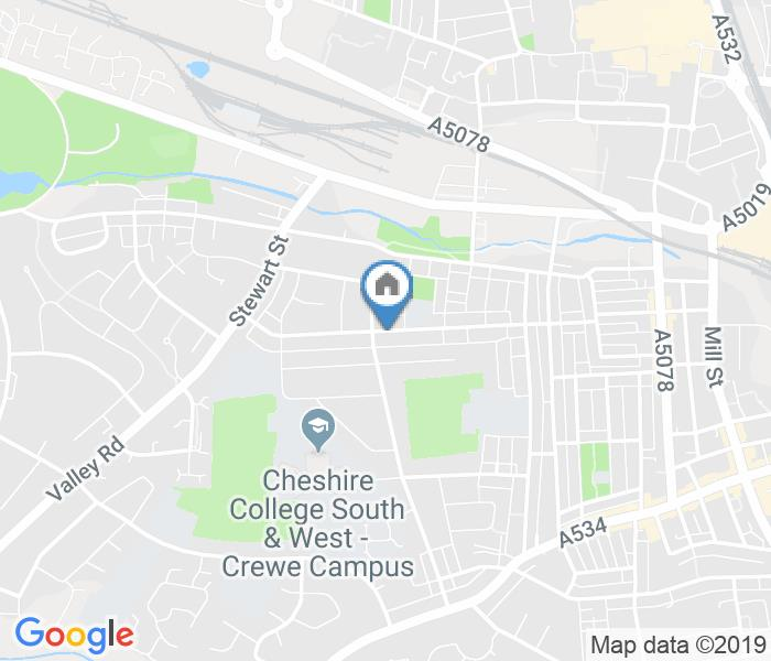 Room in a Shared House, Gainsbourgh Road, CW2