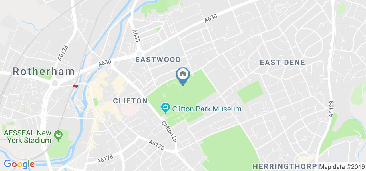 3 Bed Terraced House, Clifton Park View, S65