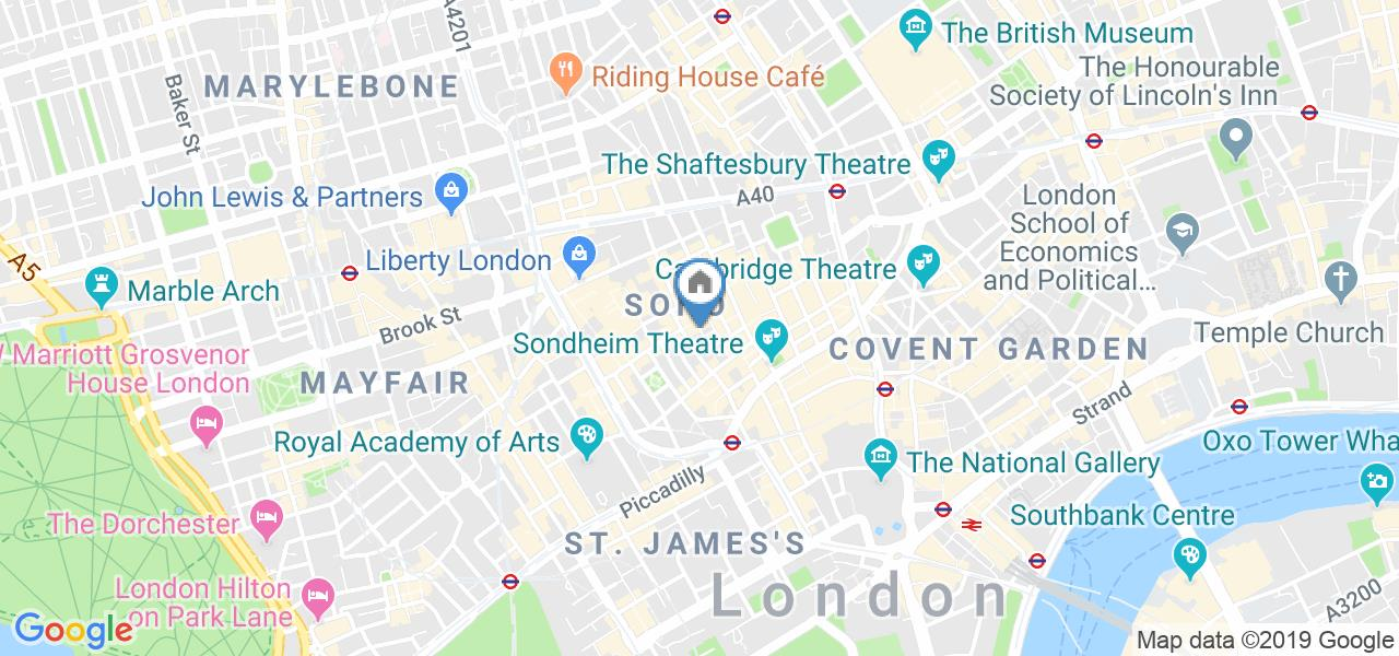 Room in a Shared Flat, Ingestre Court, W1F