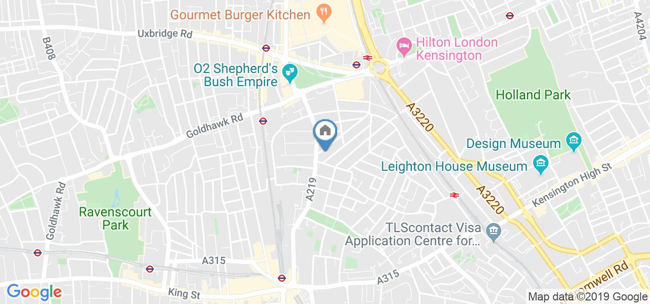 1 Bed Flat, Netherwood Road, W14