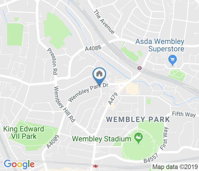 Bedsit, Wembley Park Drive, HA9