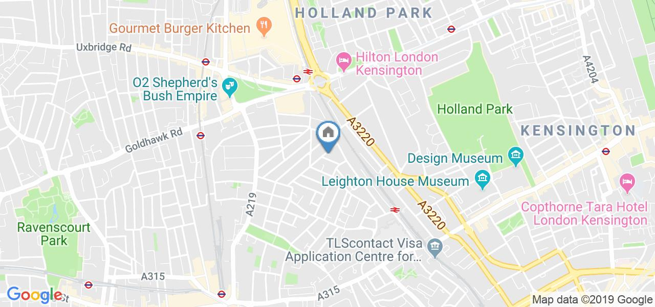 2 Bed Flat, Raised Ground Floor (A), W14