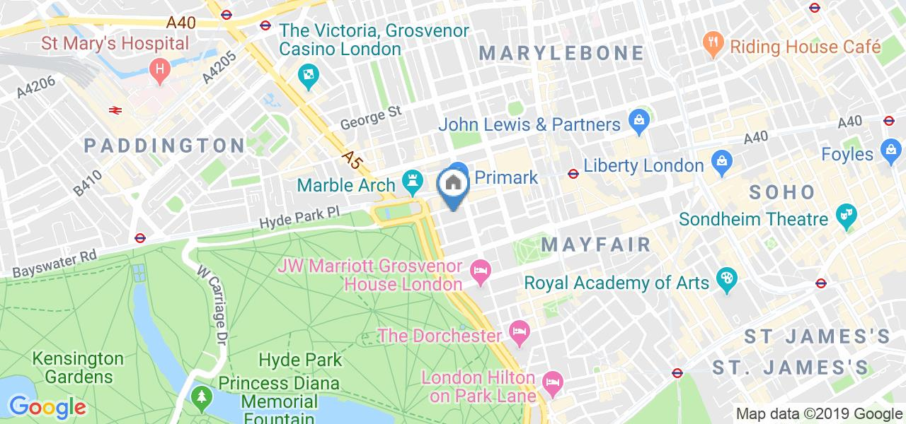 3 Bed Flat, North Row Buildings, W1K