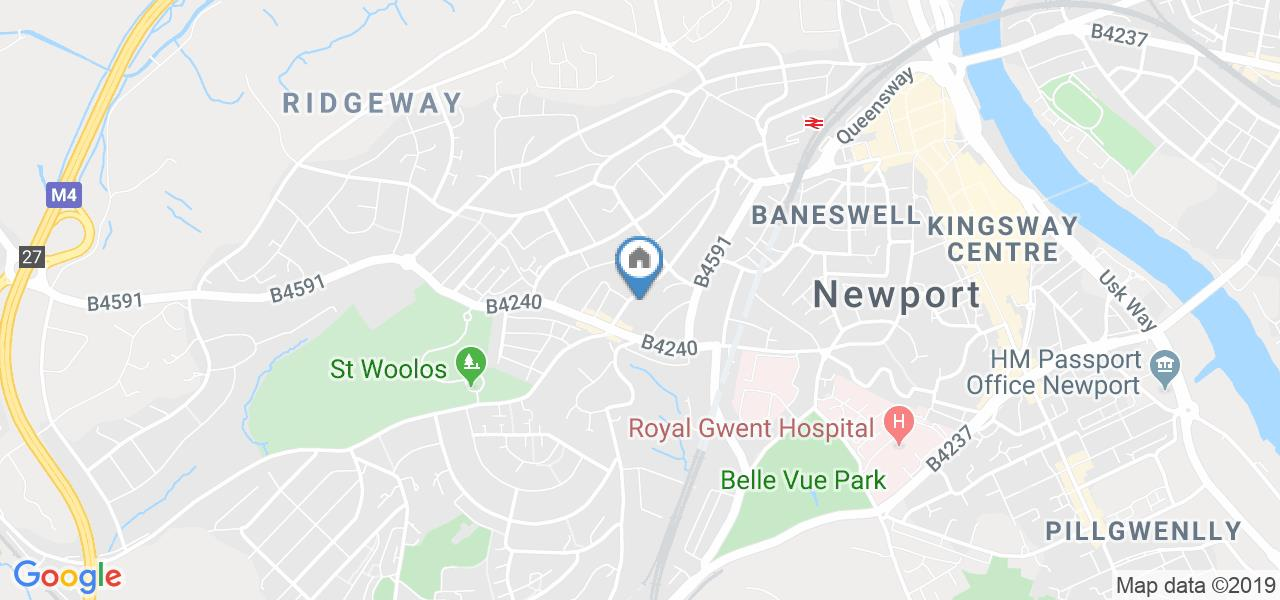 2 Bed Flat, Llanthewy Road, NP20