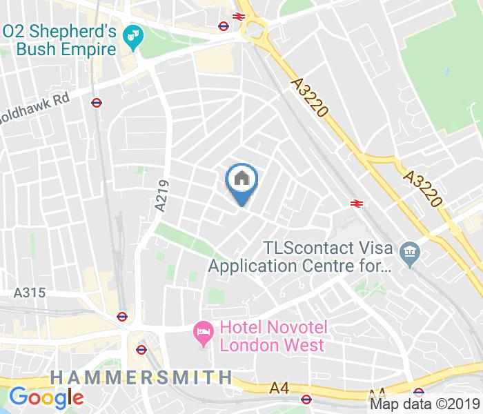 1 Bed Flat, Blythe Road, W14