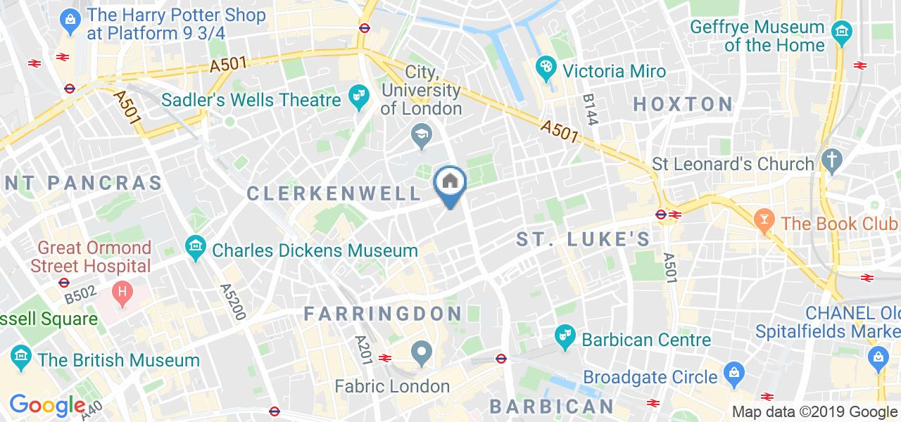 2 Bed Flat, The Triangle, EC1V