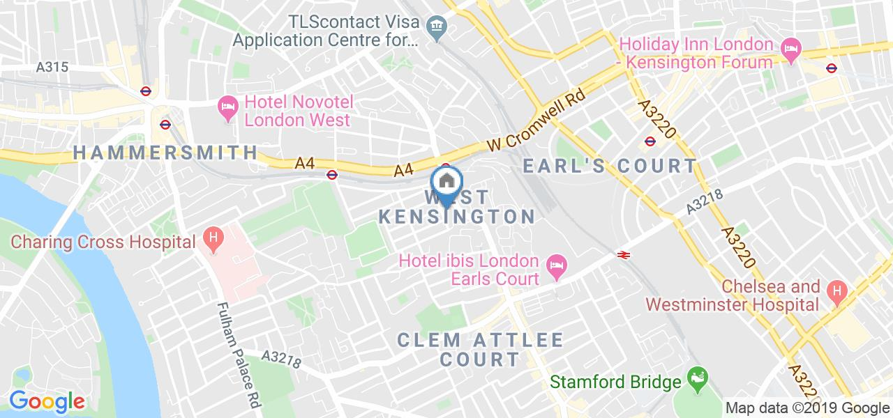 Room in a Shared House, Charleville Road, W14