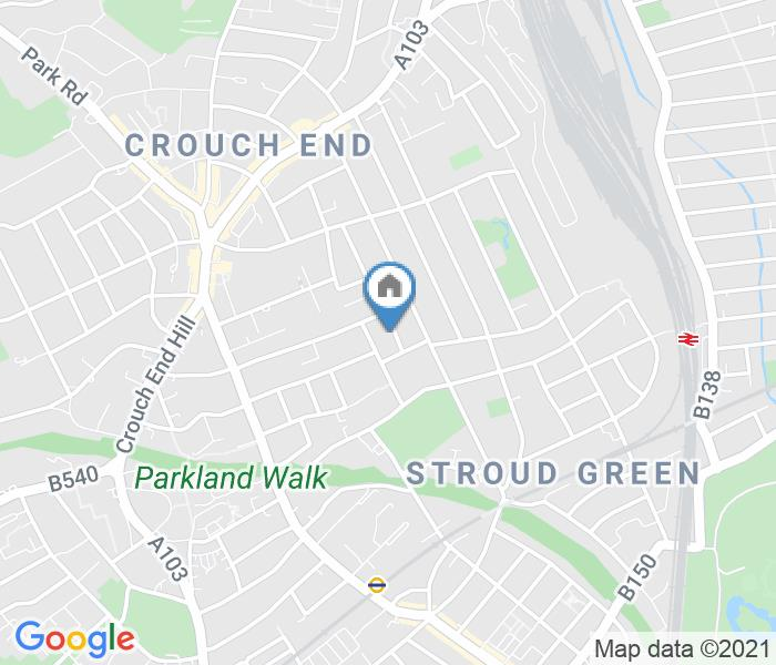 1 Bed Flat, Gladwell Road Crouch End, N8