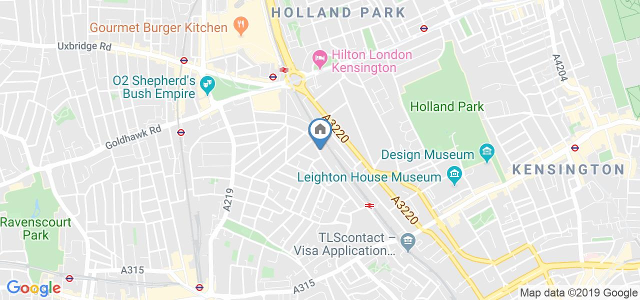 1 Bed Flat, Sinclair Road, W14