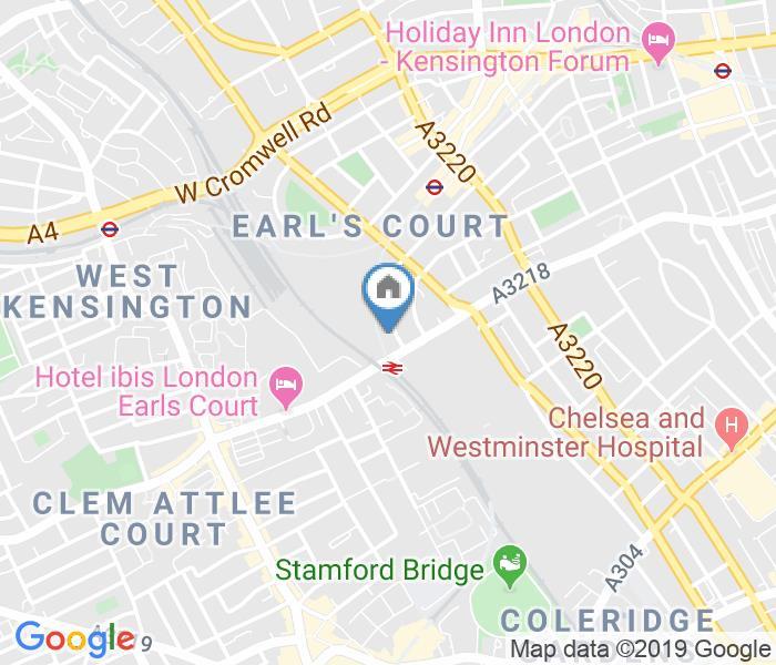 Studio Flat, Eardley Crescent, SW5