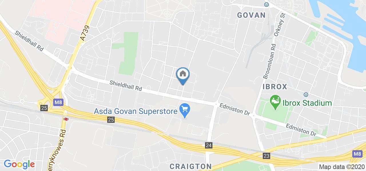 1 Bed Flat, Craigton Road, G51