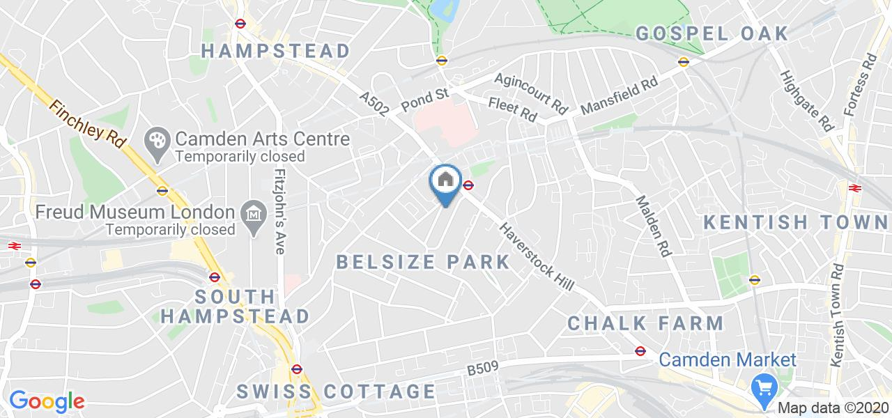 1 Bed Flat, Glenmore Road, NW3