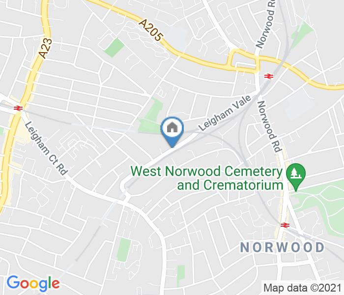 1 Bed Semi-Detached House, Leigham Vale, SW16